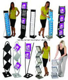 Portable Magazine Racks for Trade Shows and Other Eventstradeshow Handout Holder Zedup 1 PRO Collapsible Literature Brochure Holder