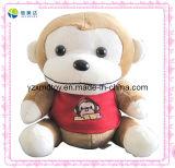 Custom Monkey with T-Shirt Plush Stuffed Forest Animals Toy