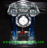 Nice Crystal Glass Table Clock
