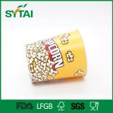 Cinema Use PE Coated Disposable 64oz Popcorn Paper Cups/Buckets