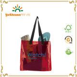 2016 Promotion Fashion Transparent PVC Beach Bag, Custom Plastic Beach Bag