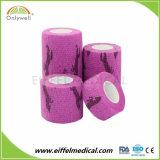 High Quality Vet Wrap Waterproof Horse Medical Non-Woven Elastic Cohesive Bandage