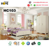 Home Furniture Korean Style Wooden Bedroom Furniture (A103)
