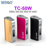 Seego Dry Herb Pen Battery Mod Tc-50W with Huge Cruising Ability