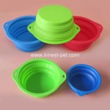Colorful Food Grade Silicone Dog Product Bowl, Pet Supply