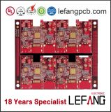 Red Solder 3oz Immersion Gold Thick Copper PCB Circuit Board