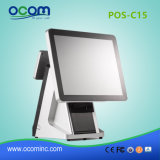 "New 15"" All in One Dual Touch Screen POS System with Printer"