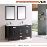 Hot Sale Marble Countertop Bathroom Vanity with Double Sink