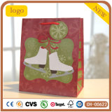 Paper Bag, Christmas Shoes Paper Bag, Gift Paper Bag