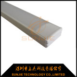 Ral9010 White Painted Aluminum LED Strip Profile Surface Mounted