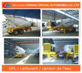 12cbm Betonniere Semi-Remorque 2essieux Concrete Mixer