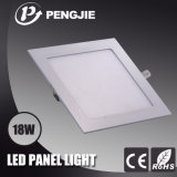 Energy Saving High Brighteness Ceiling Embedded 18W LED Panel Light
