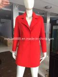 Women Colorful Wool Coat Outwear