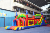 Pirate Ship Inflatable Castle Obstacle Course Inflatable Bouncer (chob236)