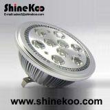 Epistar High Power Aluminium 7W AR111 LED Down Light