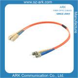 Sc-St Multimode Duplex Fiber Optic Cable/Patchcord