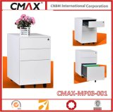 Mobile Pedestal 3 Drawer Cabinet Cmax-MP03-001