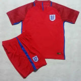 2016/2017 England Red Soccer Jersey Kit