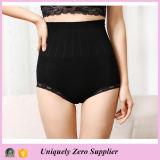 2016 Hot Selling Women High Waist Butt Lift Pant with Lace Hem Underwear