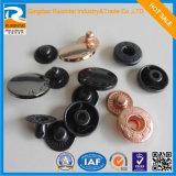 Various Design 4 Part Spring Snap Button/ Metal Bass Snap Buttons Js-147-DC