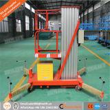 Ce Approved! Single Mast Aluminum Lift/Mobile Aluminium Work Platform
