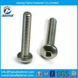 Stainless Steel Pan Head Square Drive Machine Screw Cone Point