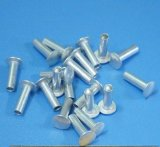 Aluminium Silver Flat Head Rivet