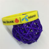 Debossed Printed Charming Promotional Gift Silicone Wristband