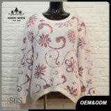 Women Fashion Flower Vine Sweater