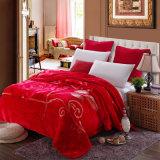 Flannel Fleece Double Ply Rashel Mink Blanket