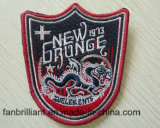 High Quality Woven Embroidery Badges Sticker Garment Applique