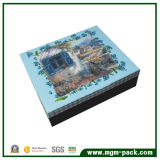 Beautiful Exquisite Blue Square Paper Chocolate Box for Gift
