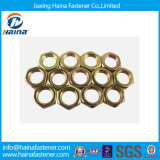 DIN929 Jam Hex Nut with Yellow Zinc Plated