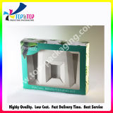 2015 Newest Design Folding Cosmetic Box with PVC Window