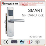 Electronic Keyless Mortise Door Handle Lock for Hotel