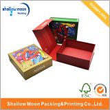 Coloured Book Shaped Boxes Custom Paper Box with Logo