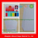 Silver Inkjet PVC Card PVC Flexible Plastic Sheet