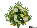 Artificial/Plastic/Silk Flower Rose/Daisy/Poppy Mixed Lying Bush (2922004)