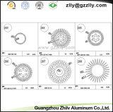 High Quality Aluminum/Building Material Sunflower Aluminum Extrusion Heatsink