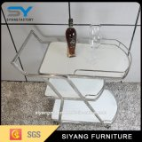 Hotel furniture Three Layers Metal Trolley for Display