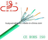 LAN Cable F/FTP Foil Over Unshielded Twisted Pair 23AWG Cat7 Cable