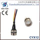 Cyx-12 12.6mm Silicon Oil Filled Piezoresistive Pressure Sensor