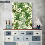 Palm Leaves Decorative Art Print on Canvas