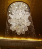 Phine Luxurious Ceiling Lamp with Crystal for Hotel and Restaurant