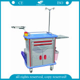 AG-Et011A1 ISO Ce Qualified Hospital Instrument Emergency Medical Trolleys