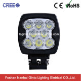 Auto Parts for off Road Vehicle 6inch 80W CREE LED Work Light