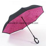 New Item Portable Handsfree Straight Reverse Inverted Umbrella