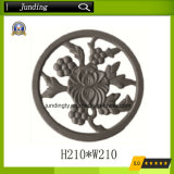 Wrought Iron Rosette Casting Iron Scroll for Wrought Iron Gate