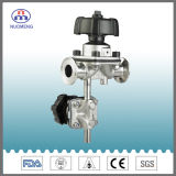 Glamp Diaphragm Valve with Sample