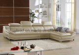 China Factory Living Room Furniture Genuine Leather Recliner Sofa (HX-F627)